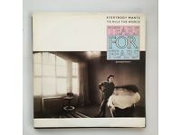 Tears For Fears - Everybody Wants To Rule The World 10 inch RARE.