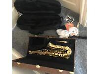 Alto saxophone ARTEMIS MK2 plus extras