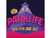 Park Life weekend tickets x 2
