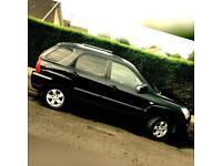 KIA SPORTAGE CRDI6 Speed METALLIC BLACK 2009 IMMACULATE CONDITION 2.0 Diesel