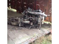 NISSAN CABSTAR ENGINE and Gearbox 2.5 D