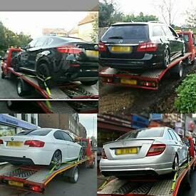 Breakdown Tow Recovery&Transport Services cars vans 24/7 jump start etc
