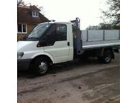 53 reg 2. 4 90 Transit tipper ex BT 156000 full history £3500