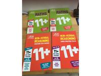 Letts Maths 11+ 8 books in total brand new OFFERS