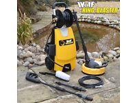 Wolf Wheel Mounted Blaster 2000w 240v 160BAR Pump Power Jet Pressure Washer