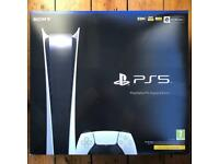 PS5 (PlayStation 5) Digital Edition Console - Brand New, Sealed & In Hand