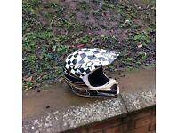 Large fox motocross helmet