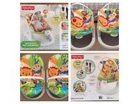 Fisher price baby bouncers