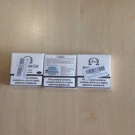 Brand new 3 x 5 Innokin iSub standard replacement coils