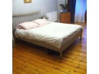 Stunning king sized bed with mattress.