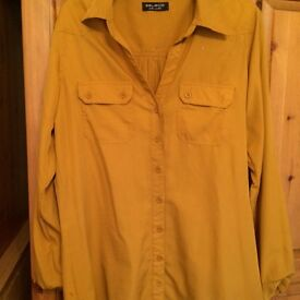 Yellow shirt. Size 14