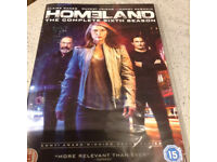 DVD Series 6 - Homeland - As new, watched once