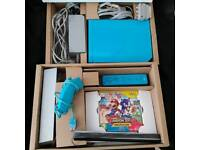 Wii blue console