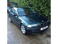 BMW 320i // 2.2L // AUTOMATIC // PETROL // VERY CLEAN // 85,000 MILES // BLACK LEATHER //