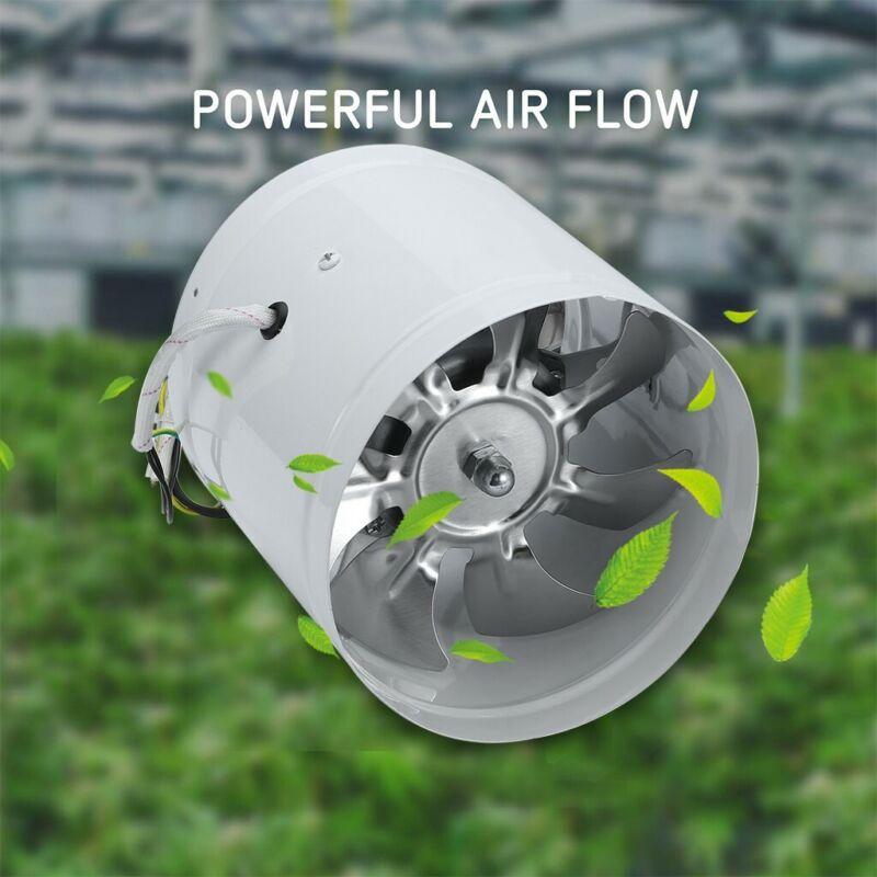 """4"""" 6"""" Inch Duct Booster Inline Blower Fan Blower Exhaust Duc"""