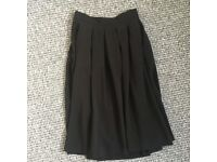 Black H&M Skirt Long Nice Small