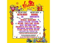 V festival weekend camping ticket for Weston park