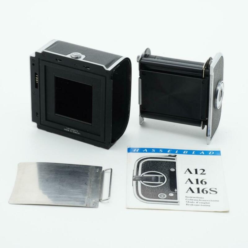 Hasselblad A16S Chrome 120 Film Back