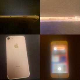 iPhone 7, rose gold