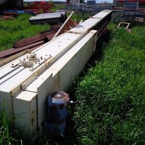"26 ft long x 18"" wide Belt Conveyor with Eurodrive"