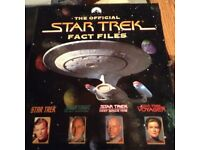 The official Star Trek fact files complete set