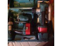 Marital jigsaw drill and saw