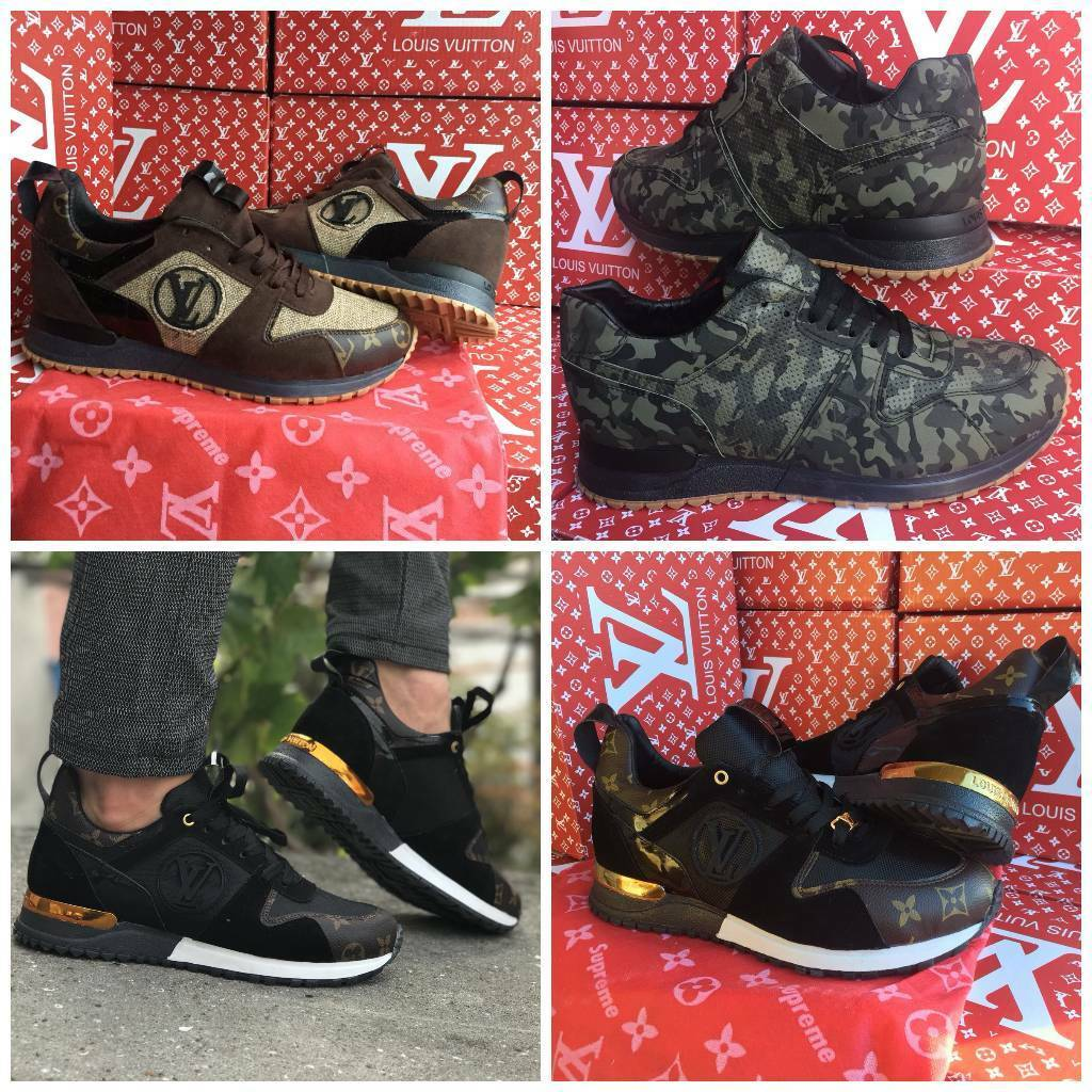 8585f9ba401 Louis Vuitton supreme trainers new all sizes