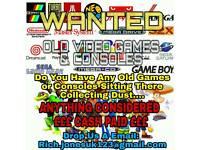 WANTED ** SUPER NINTENDO, SNES, N64, NES, GAMEBOY, DS, MARIO