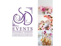 Party planner, Hire, Venue sourcing, Decorator, Events