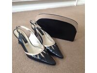 Jacques Vert shoes and handbag