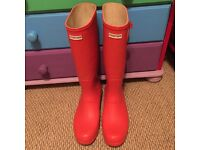 Hunter wellies size adult 11