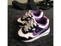 New Baby Girls size 4 Nike Air Max