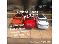 Open 7 Days From 11 To 7.30, Range Rover Style In 3 Colours, Rubber Tyres & Leather Seat £120
