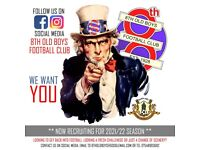 8th Old Boys FC now recruiting......