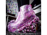 Gothic Skull Crystal Mermaid Shoes