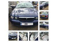 Jaguar x-Type S D 2005 2.0 Diesel Pacific Blue JHM (Door) All Parts Available