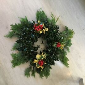 Christmas holly wreaths for sale