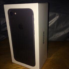 IPhone 7 Black 128GB Brand New + SEALED