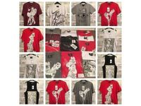 13 x Brand New Pin Up Streetwear T Shirts - WHITEFIELD Bundle Joblot
