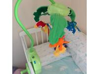 Fisher price baby rainforest mobile