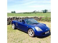 TOYOTA MR2 STUNNING SUMMER CONVERTIBLE YEAR MOT