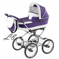 RETRO STYLE BALLERINA LEATHER & ECO. ONLY IN EUROSTROLLER!