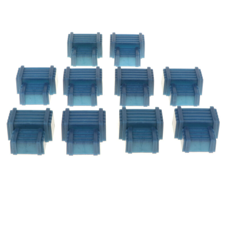 10PCS Military Annular Shelters Sand Scene Model Kits Army Men Accessories