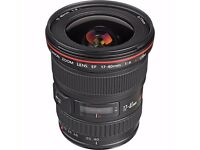Canon EF 17-40 mm f/4.0 L - like new