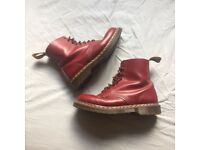 Dr Martens Oxblood Boots - Made In England - Size 10