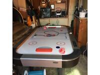 Arcade size air hockey tabel