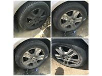 "Ford Mondeo 205-55-16"" Alloy Wheels and Tyres Set of four"