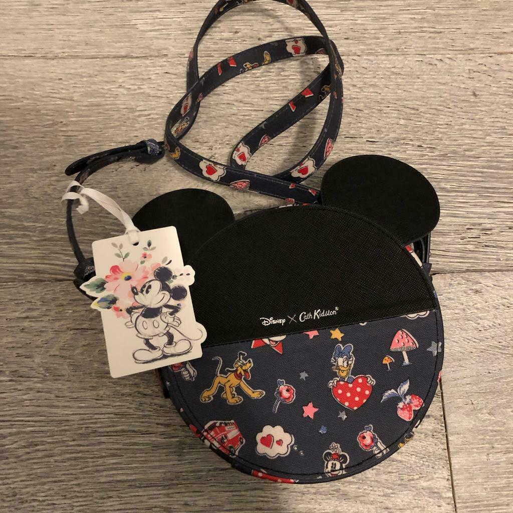 fedbee78812941 *Brand New with Tag* Cath Kidston x Disney Mickey Mouse Crossbody Round Bag
