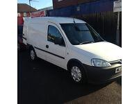 very clean little van side loading door long mot 2 keys px poss