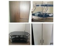 Instant Pick Up: Double Bunk Bed, Wardrobes, TV Stands, Sofa, Microwave etc